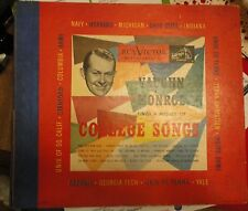 RCA Victor Musical Smart Set 78 RPM Vaughn Monroe college songs 4 record old