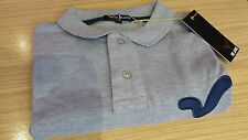 Mens designer voi jeans polo p k shirt Wyndham grey marl size medium sale cheap