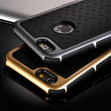 Metallic Bumper Frame Silicone/Gel/Rubber Back Case Cover for iPhone 5 6S 6 Plus