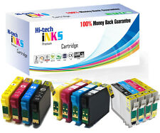 4 HiTech iNKS Compatible Cartridges For Epson Printers