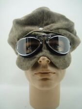 NEW CAP AVIATOR GOGGLES Racer Car Motorcycle LONDON BRIGHTON VTG Racing Aviation