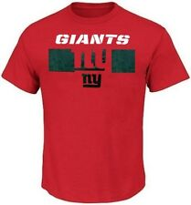 New York Giants NFL Majestic Mens Short Yardage Shirt Red Big & Tall Sizes