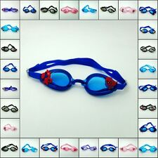 Kids Gifts Anti-Fog Silicone Swimming Diving Goggle + Cartoon Cute charms