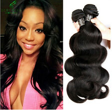 3 Bundles/150g Virgin Brazilian Human Hair Extensions Body Wave Hair Weave weft