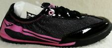 EVERLAST GIRLS~PINK BLACK SPARKLE~SPORT TENNIS~ATHLETIC~ELASTIC WORKOUT SHOES