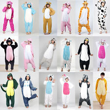 Unisex Adult /Children Kigurumi Pajamas Animal Cosplay Costume Onesie Sleepwear