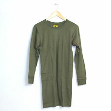 New Unissued Dutch Army Surplus Olive Green Long Sleeve Thermal Top TShirt