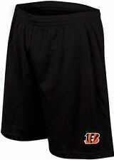 Cincinnati Bengals NFL Majestic Mens Therma Base Shorts Black Big & Tall Sizes