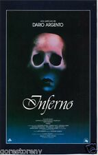INFERNO Movie Poster Dario Argento Suspiria Horror