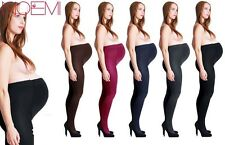 WARM 100 DEN SOFT Maternity STOCKINGS OPAQUE maternity Tights