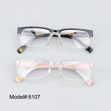 6107 quality full rim stylish acetate eyewear frames spectacles optical glasses