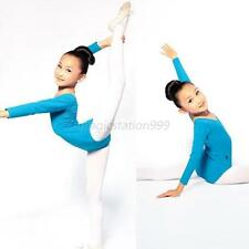 Girls Dancewear Gymnastics Ballet Tutu Dance Dress Leotard Skating Costume M59