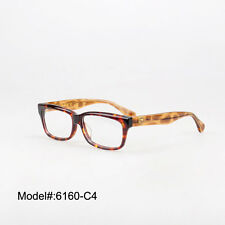 6160 quality spectacles optical glasses shield decorated acetate eyewear frames