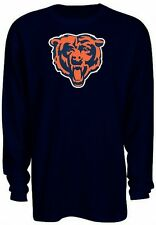 Chicago Bears NFL Mens Long Sleeve Classic Thermal Shirt Navy Big & Tall Sizes