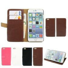 """Wallet Book Flip Leather Case Cover Stand Card Slot Pouch For iPhone 6 Plus 5.5"""""""