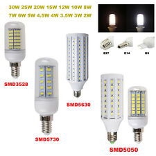 15W 12W 10W 8W 5W 3W Bulb E27 E14 G9 SMD 5630 5050 3528 5730 Lamp LED Corn Light