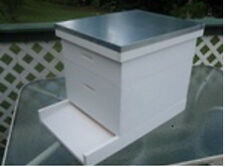 Bee Hive, Langstroth 10 frame w/ honey super, all frames and foundation