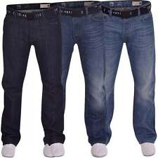 Mens Smith and Jones Bootcut Wide Bottom Hardwearing Fashion Denim Jeans