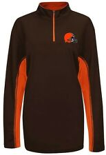Cleveland Browns NFL Mens Synthetic 1/4 Zip Lightweight Fleece Big & Tall Sizes