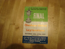 1968 Amateur Cup Final : Chesham United v Leytonstone