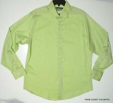Geoffrey Beene Mens Fitted Dress Shirt size 16.5 (large) Non Iron Sleeves 34/35