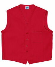 Daystar Aprons 1 Style 740 One Chest Pocket Vest Uniform~ Made in USA