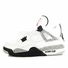 Nike Air Jordan 4 Retro OG [840606-192] Basketball White/Fire Red-Cement Grey