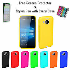S Line Soft Silicone Gel Grip Back Jelly Tpu Case Cover For Nokia Lumia 950 XL