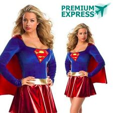 SUPERGIRL SEXY DELUXE Licensed Women's Costume