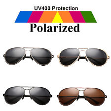 Men's UV400 Polarized Sunglasses Outdoor Driving Fishing Eyewear Metal Glasses