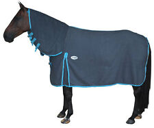 CARIBU POLAR FLEECE Combo Horse Rug, Plush 310gsm Fleece, Gusset. All Sizes