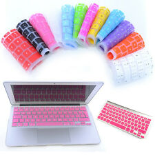 "Silicone Keyboard Skin Cover For Laptop Macbook Pro Air Retina 13"" 15"" Protector"