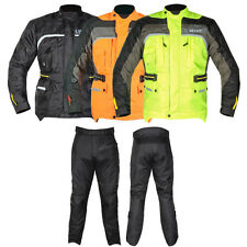 GMAC Pilot Motorbike Motorcycle Jacket trouser Waterproof CE Armour Racing Rider