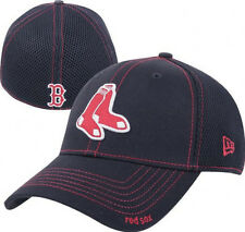 Boston Red Sox New Era Neo 39THIRTY Stretch Fit Flex Mesh Back Cap Hat 3930