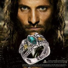 Lord of the Rings Aragorn's Ring of Barahir LOTR Size 6-10 *****