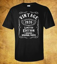 T-Shirt Funny Birthday -Vintage - Limited Edition- 30th,40th,50th 1976-1986-1966