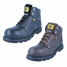 Mens Grouser St leather steel toe cap boot by Caterpillar £59.99