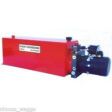 Hydraulic Power Pack - Single Acting, 20 Litre Tank. Good Quality Powerpack