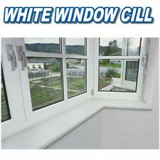 White UPVC Cover Board Window Sill Cill 1120mm Length In Various Widths