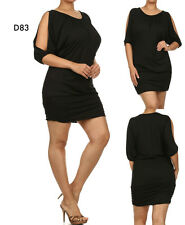 D83 New Womens Wedding Cocktail Evening Spring Club Party Chic Sexy Plus Dress
