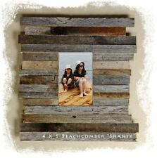 """Reclaimed Barnwood Beachcomber Family Wall Picture Frames 4"""" x 6"""" - 12"""" x 16"""""""