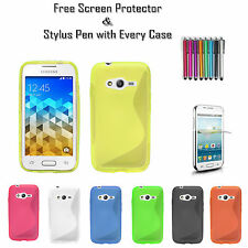 S-Line Soft Silicone Gel Grip Tpu Case Cover For Various Samsung Galaxy Phones
