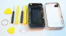 White Black Iphone 3GS Replacement Chrome Bezel Back Cover Housing 8GB 16GB 32GB