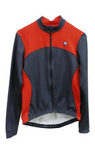 Giordana Fusion Donna Womens Long Sleeve Cycling Jersey - Red and Grey Bike Jers