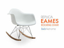 Replica Eames RAR Eiffel Rocking Chair WHITE - ADULT Retro Designer Chair