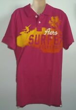 Mens AEROPOSTALE Rocky Point Surf Jersey Polo Shirt NWT #1714