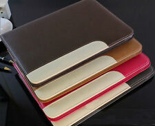 US SHIP Leather Smart Cover Stand Holder Case For Apple iPad 2/3/4 Wake/Sleep
