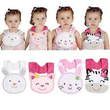 Toddler Lunch Bibs Baby Girl Boy Towel Saliva Infant Cartoon Burp Cloths L1U7