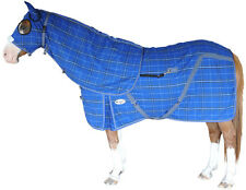 CARIBU KERSEY WOOL Horse Rug & Hood Set, 400gsm Kersey Wool. Warm.  All Sizes