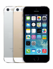 Apple iPhone 5S GSM Factory Unlocked 16GB Smartphone SILVER GRAY GOLD